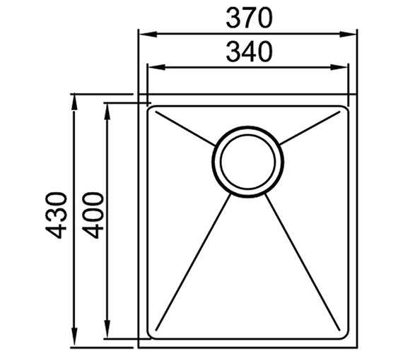 Technical drawing QS-V30876 / OXL1XBHOMEPK