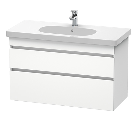 Duravit DuraStyle 1000mm 2 Drawers Unit With D-Code 1050mm Basin