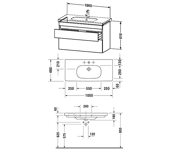 Technical drawing QS-V24990 / DS648501818