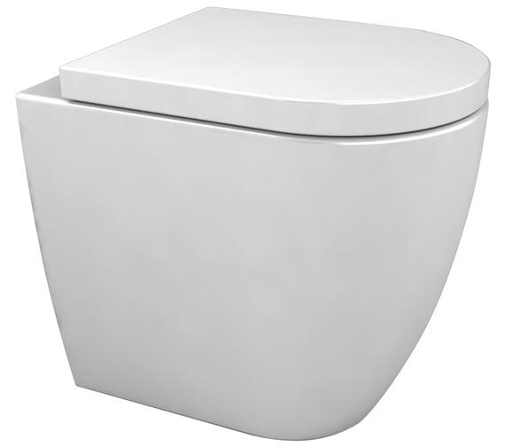 Saneux Ylo Back To Wall Pan With Wall Outlet