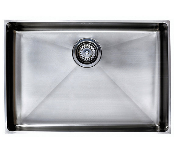 Astracast Onyx 4070 Large Bowl Brushed Stainless Steel Flush Inset Sink