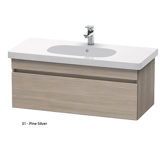 Alternate image of Duravit DuraStyle 1000mm Vanity Unit With D-Code 1050mm Basin