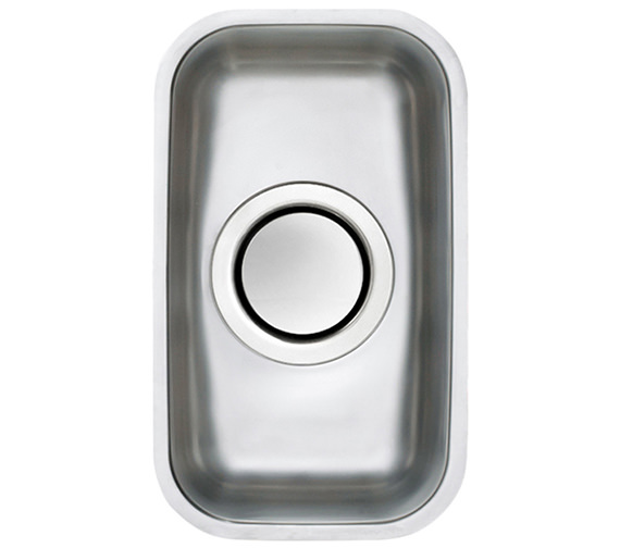 Astracast Edge H1 0.5 Bowl Polished Stainless Steel Undermount Sink