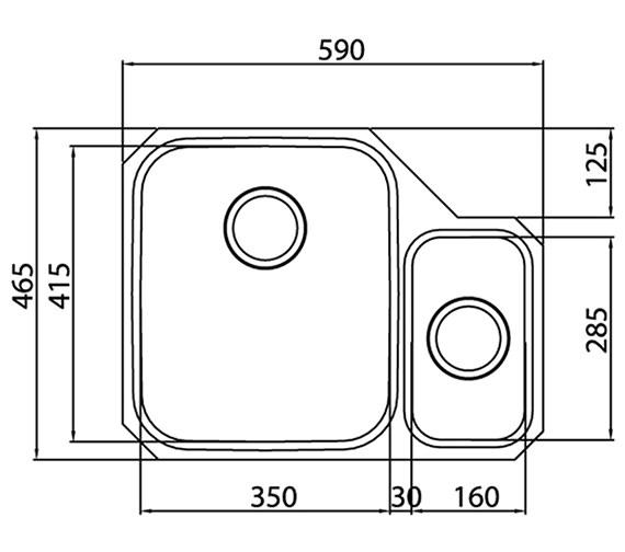 Technical drawing QS-V27659 / EDD1XXHOMESKL
