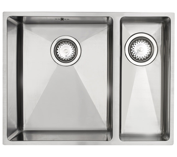 Astracast Onyx 4053 1.5 Bowl Brushed Stainless Steel Flush Inset Sink