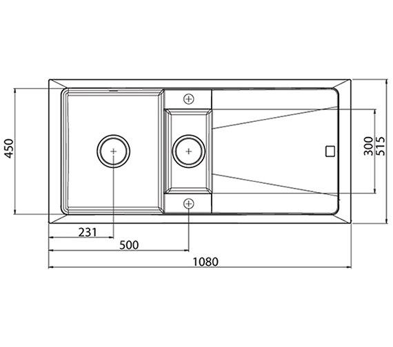 Technical drawing QS-V27679 / CT15RZ420K