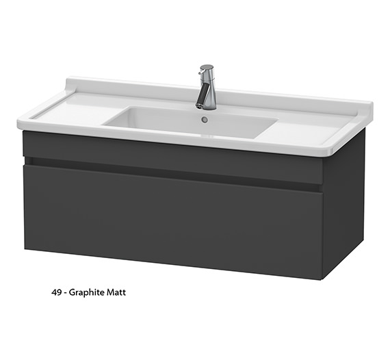 Additional image of Duravit DuraStyle 1000mm Vanity Unit With 1050mm Starck 3 Basin