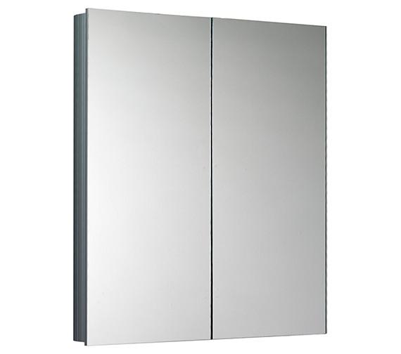 Saneux Ice Double Door Mirror Cabinet 600mm Wide