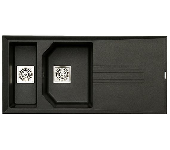 Astracast Helix 1.5 Bowl Composite ROK Metallic Inset Sink