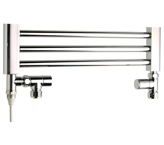 Saneux Premium Straight Lockshield And Angled Radiator Valves