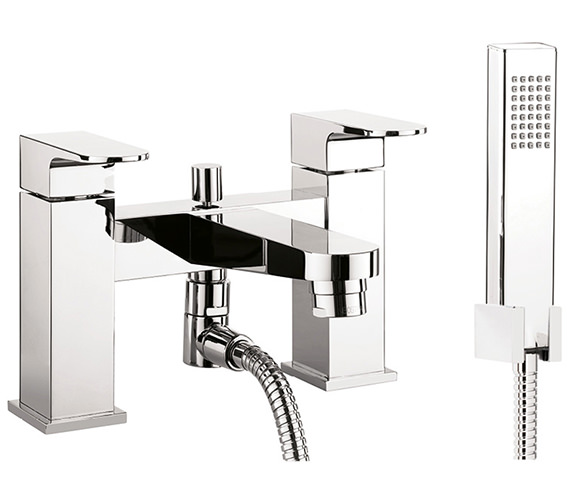 Crosswater Modest Bath Shower Mixer Tap With Kit