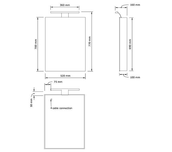 Technical drawing QS-V80469 / 1051