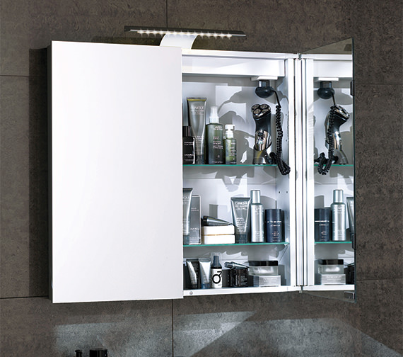 Saneux Ice Mirror Cabinet With LED Light