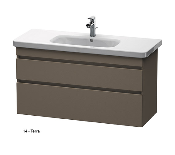 Duravit Durastyle 1130mm 2 Drawers Unit With 1200mm Basin