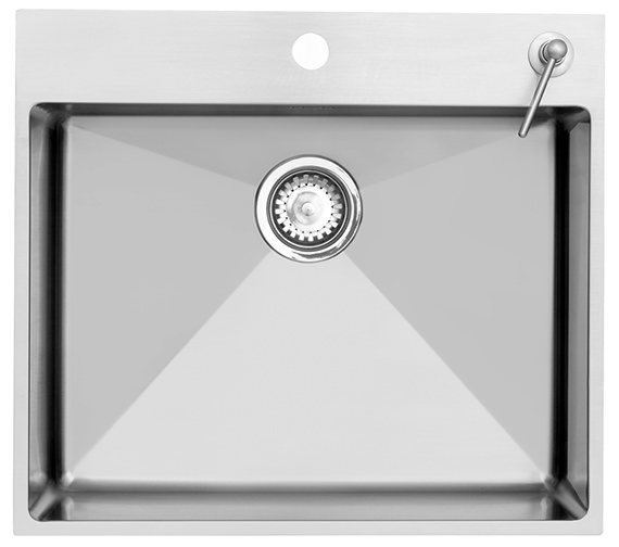 Astracast Onyx 1.0 Bowl Stainless Steel Large Inset Sink With Tap Deck