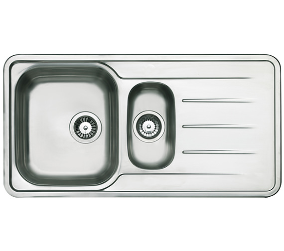 Astracast Topaz 1.5 Bowl Polished Stainless Steel Inset Sink