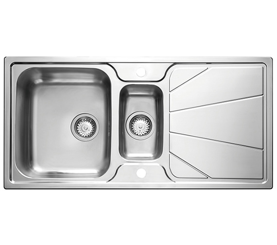 Astracast Korona 1.5 Bowl Polished Stainless Steel Inset Sink