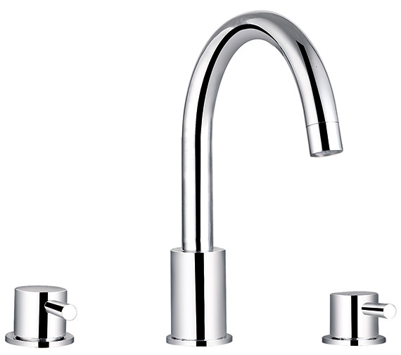 Saneux Pascale 3 Hole Deck Mounted Bath Filler Tap