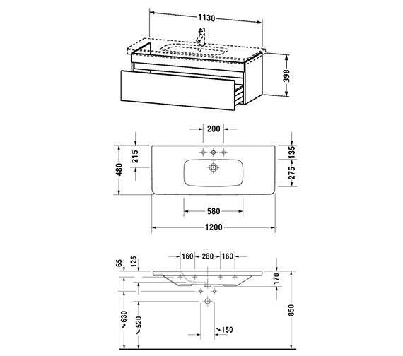 Technical drawing QS-V24984 / DS639501818