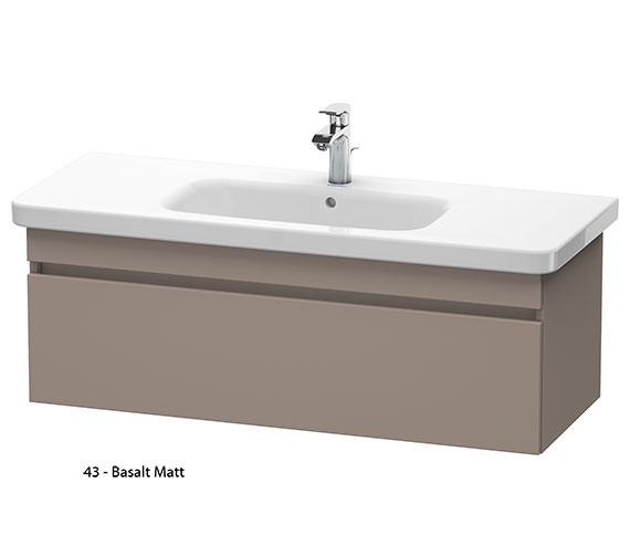 Alternate image of Duravit DuraStyle 1130mm Vanity Unit With 1200mm Basin