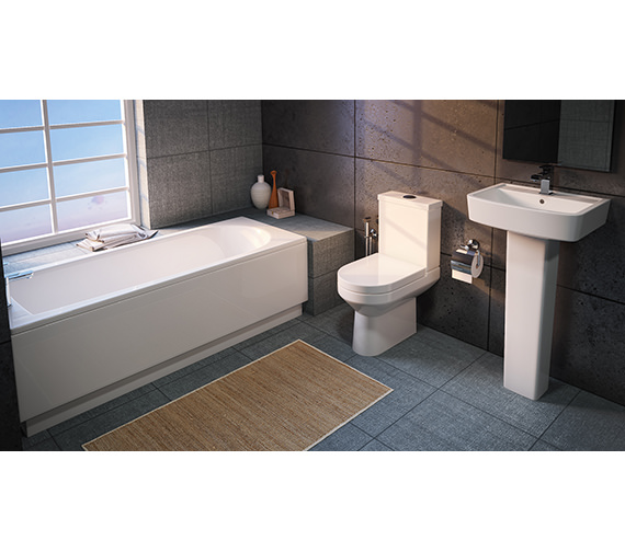 Aqva Modern Vancouver Small Bathroom Suite