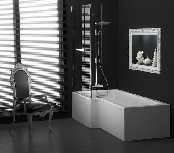 Saneux Stetson 1700mm Shower Bath