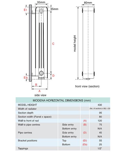 Technical drawing QS-V35689 / FALH4H15S