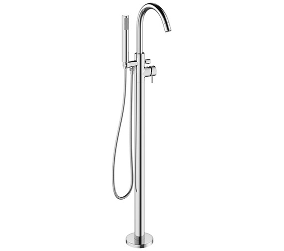 Crosswater Mike Pro Chrome Bath Shower Mixer Tap With Kit