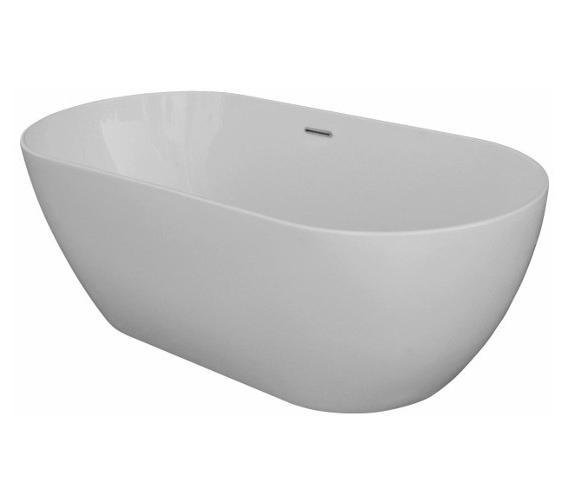 Saneux Lola 1700 x 800mm Freestanding Bath Tub With Waste