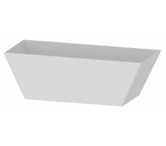 Saneux Vista 1695 x 800mm Freestanding Bath Tub With Waste