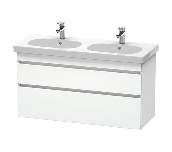 Duravit DuraStyle 1150mm White Matt Vanity Unit With Basin