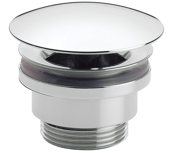 Crosswater Chrome Unslotted Free Flow Basin Waste