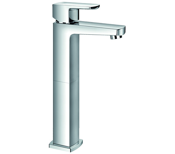 Alternate image of Flova Dekka Cloakroom Basin Mixer Tap With Clicker Waste 145mm Height