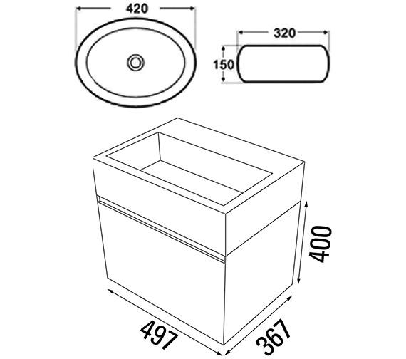Technical drawing QS-V88204 / MC100.03