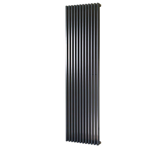 Alternate image of Apollo Bassano 1800mm Height Anthracite Vertical Radiator