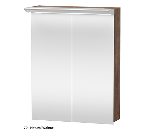 Additional image of Duravit Darling New 600mm 2 Door Mirror Cabinet