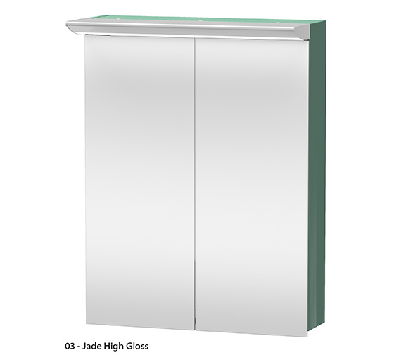 Alternate image of Duravit Darling New 600mm 2 Door Mirror Cabinet