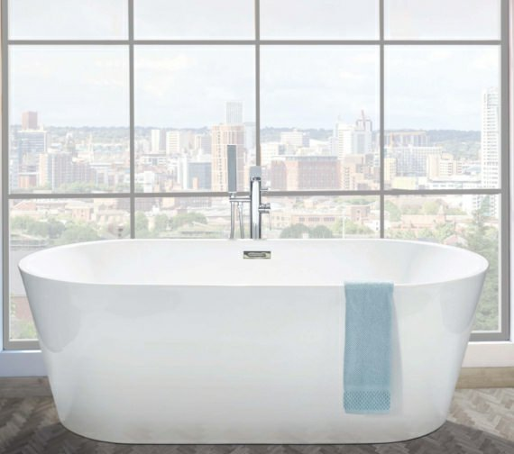 Phoenix Ultima Freestanding Bath With Waste And Overflow