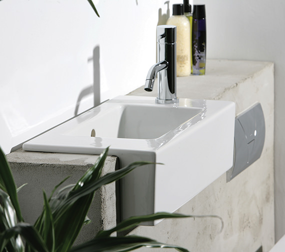 Saneux Uni 520mm Semi Recessed Washbasin
