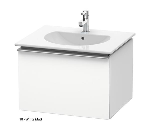 Additional image of Duravit Darling New 600mm Terra Vanity Unit With 630mm Basin