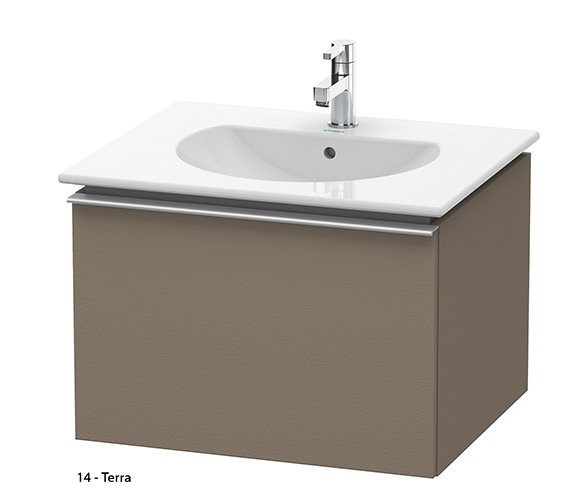 Additional image of Duravit Darling New 600mm White Matt Vanity Unit With 630mm Basin