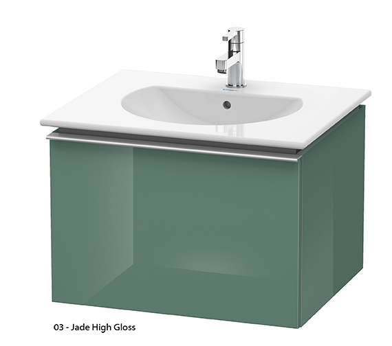 Alternate image of Duravit Darling New 600mm White Matt Vanity Unit With 630mm Basin