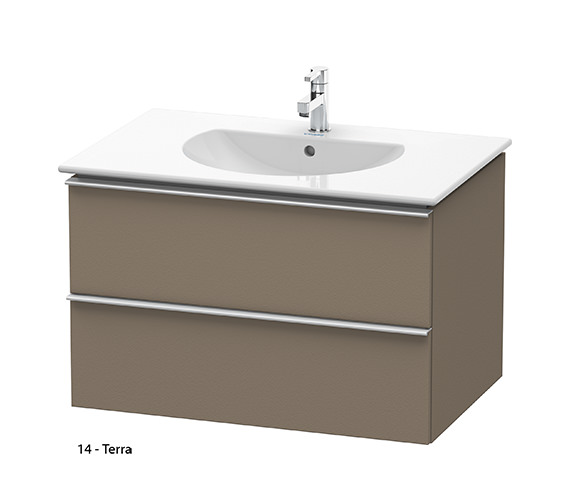Additional image of Duravit Darling New 800mm 2 Drawers White Matt Unit With Basin