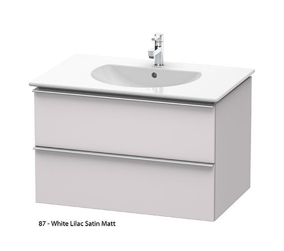 Alternate image of Duravit Darling New 800mm 2 Drawers White Matt Unit With Basin