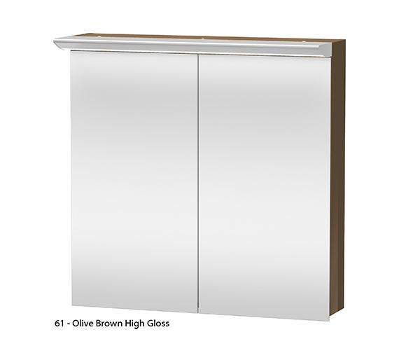 Alternate image of Duravit Darling New 800mm 2 Door Mirror Cabinet