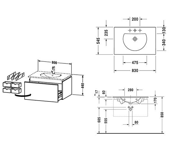 Technical drawing QS-V63304 / DN646101818