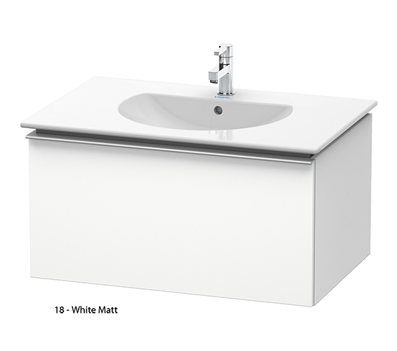Additional image of Duravit Darling New 800mm Terra Vanity Unit With 830mm Basin