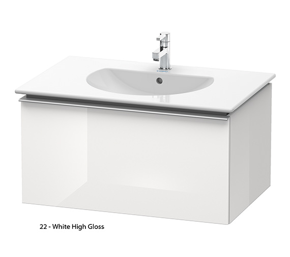 Alternate image of Duravit Darling New 800mm Terra Vanity Unit With 830mm Basin