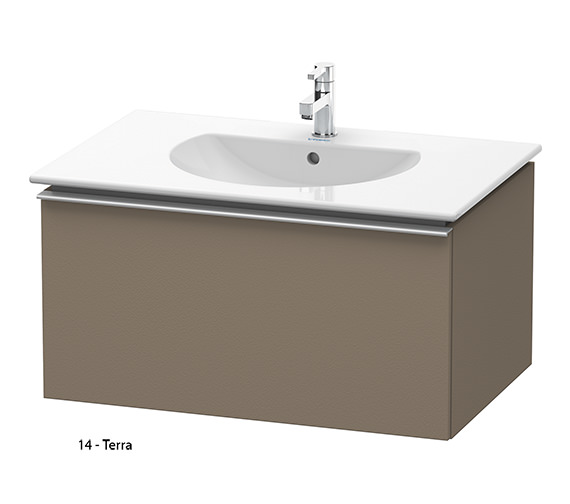 Additional image of Duravit Darling New 800mm White Matt Vanity Unit With 830mm Basin