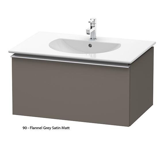 Alternate image of Duravit Darling New 800mm White Matt Vanity Unit With 830mm Basin